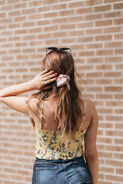 Buttered Floral Tube Top