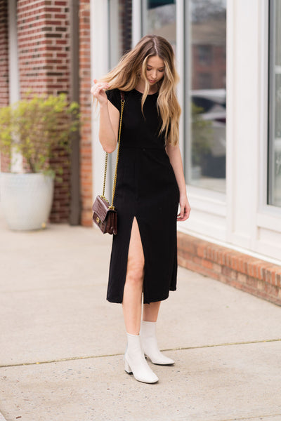 Focus On Me Midi Dress