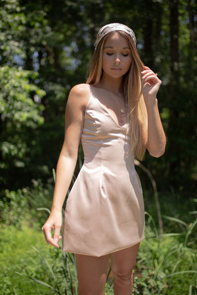 The Serena Satin Dress