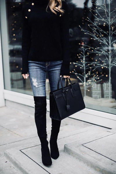The Stuart Over The Knee Boots