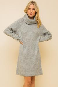 You Come First Sweater Dress