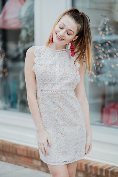 Deep Breaths Crochet Dress