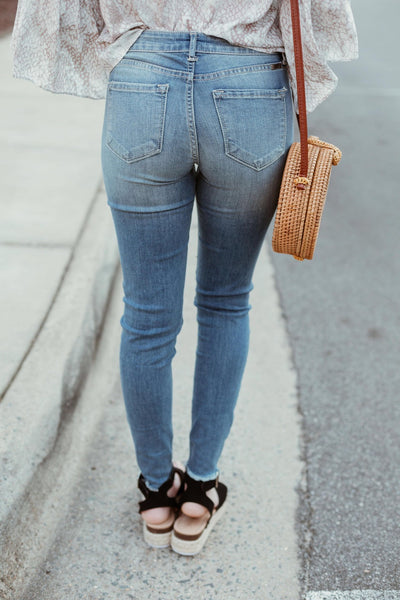 The Chloe Distress Jeans