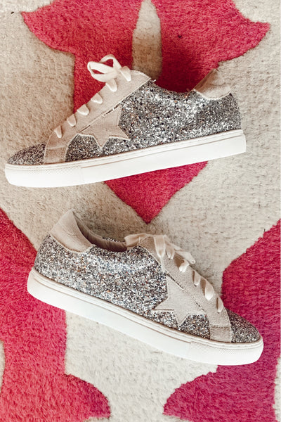 The Goose Glitter Sneakers