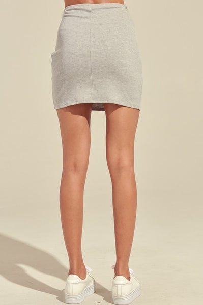 The Serena Tie Skirt