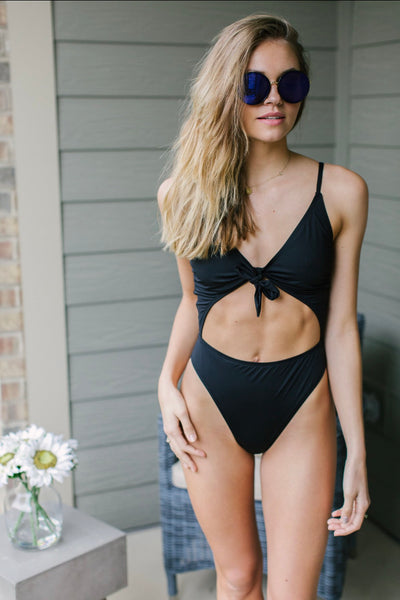 The Kylie Knot Front One Piece