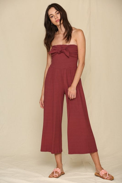 North Hills Ribbed Jumpsuit