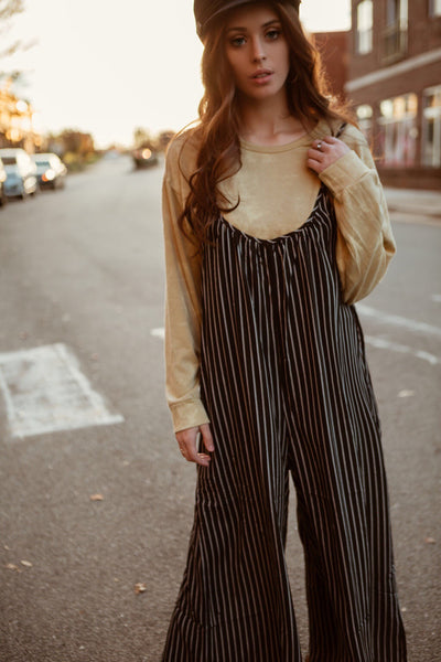 The Jagger Striped Jumpsuit