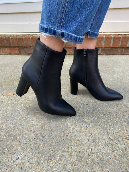 Step Into The Night Bootie