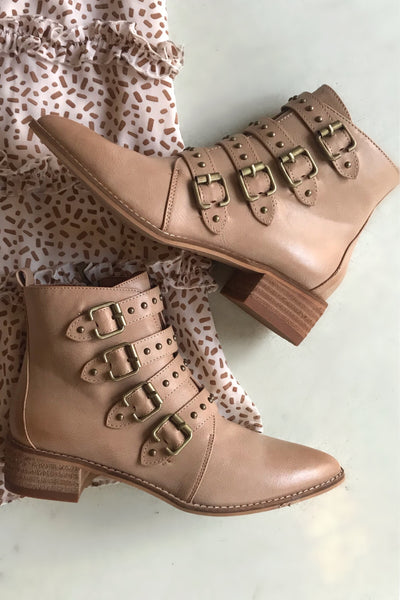 The Brynn Buckle Boots