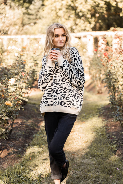 Crazy In Love Leopard Sweater