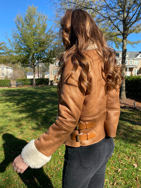 Pretty Thoughts Suede Jacket