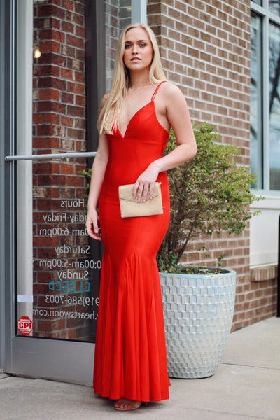 To Die For Tie Back Formal Gown