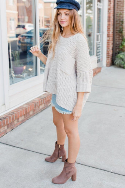 Covet Me Chunky Oversize Sweater