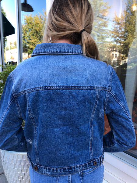 Bet You Wanna Denim Jacket