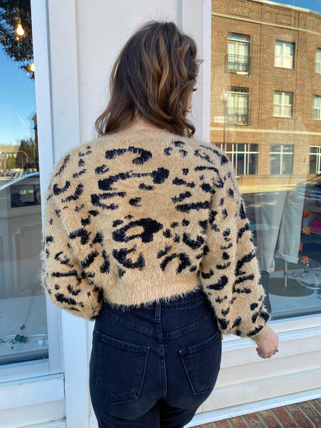 Still The One Leopard Sweater
