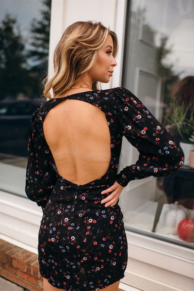 Here With You Open Back Dress