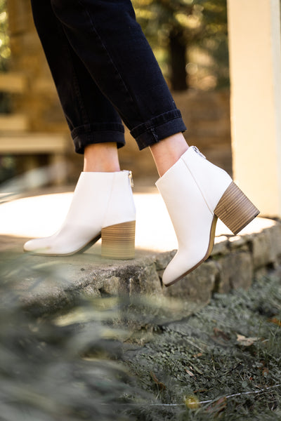 Gotta Have It White Booties