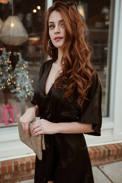 The Shiloh Satin Romper