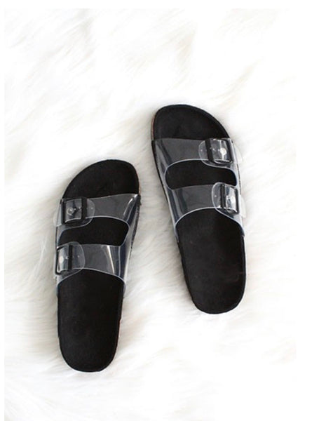 Clearly Cute Birk Dupes