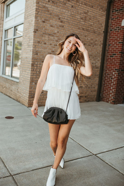 About You Pleated Romper