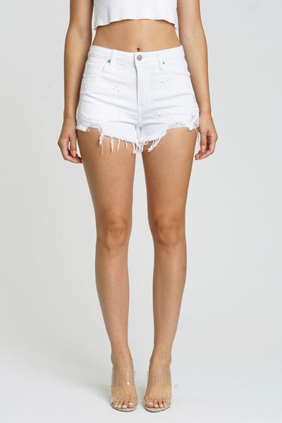 Quinn Star High Waist Cutoff Shorts