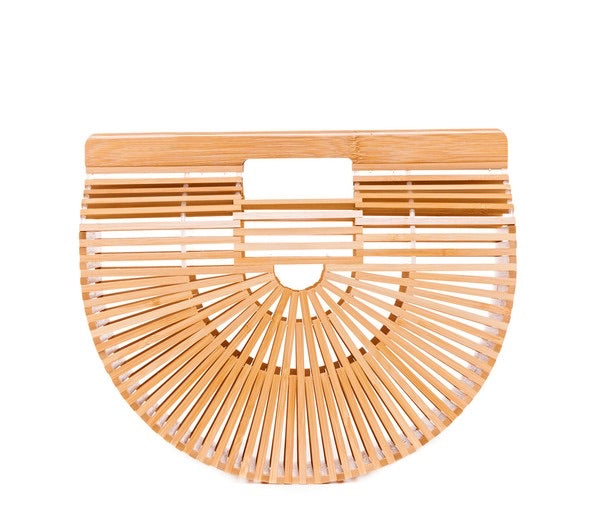 Bridgette Bamboo clutch Bag