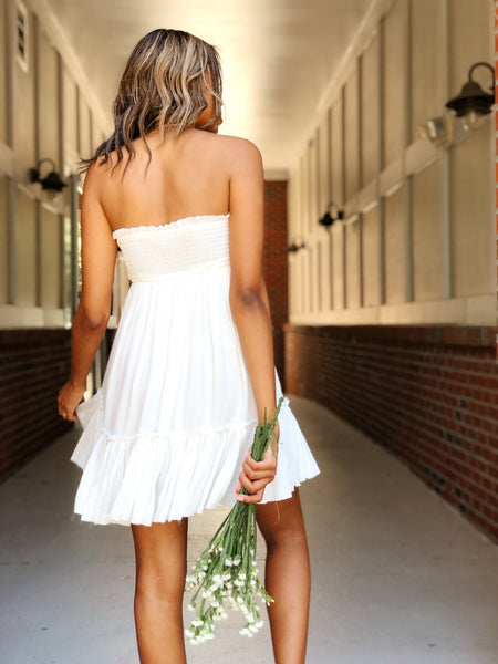 Dreamers Strapless Dress