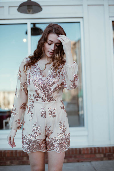 The Grammy Sequin Romper