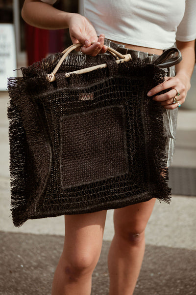 The Haven Straw Bag