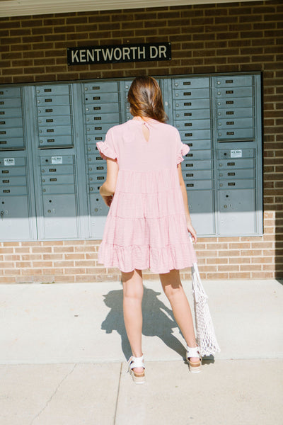 Pin It Tiered Ruffle Dress
