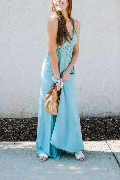 The Cornflower Field Maxi Dress