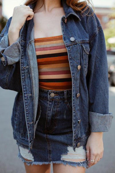 American Teen Oversize Denim Jacket