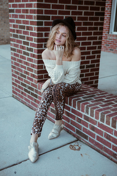 Animal House Leopard Pants