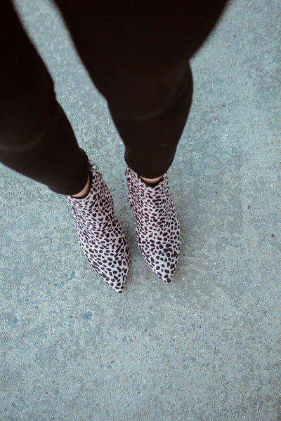 The Edelman Cheetah Booties