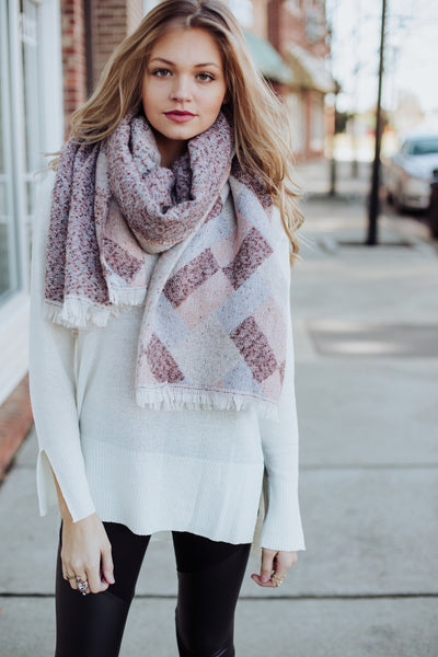 Pastel Party Scarf