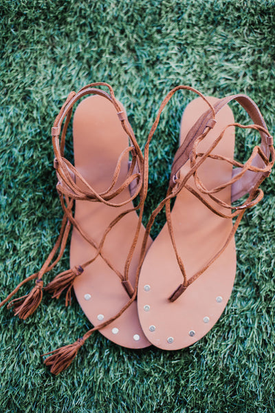 Tennessee Whiskey Sandals
