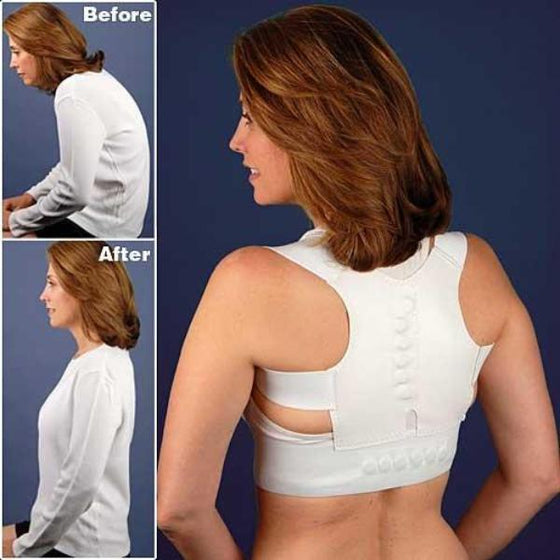 Magnetic Back & Shoulder Brace