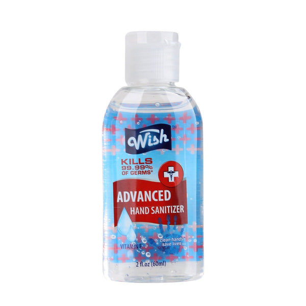 24 Piece Wish  Hand Sanitizer 2oz Gel with Vitamin E in a Jar