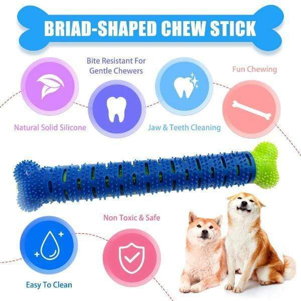 Self-Brushing Toothbrush for Dogs