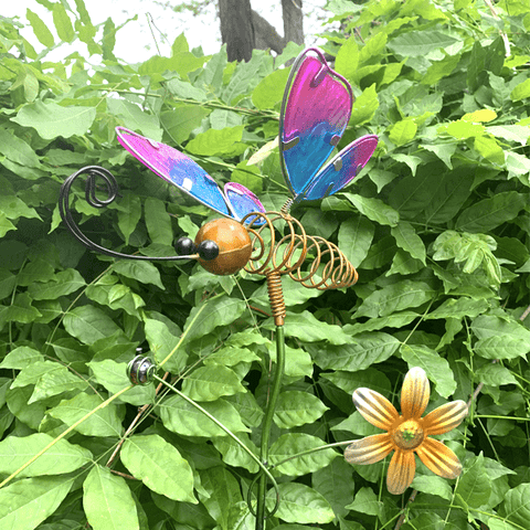 "28"" Tall Butterfly Garden Stakes"