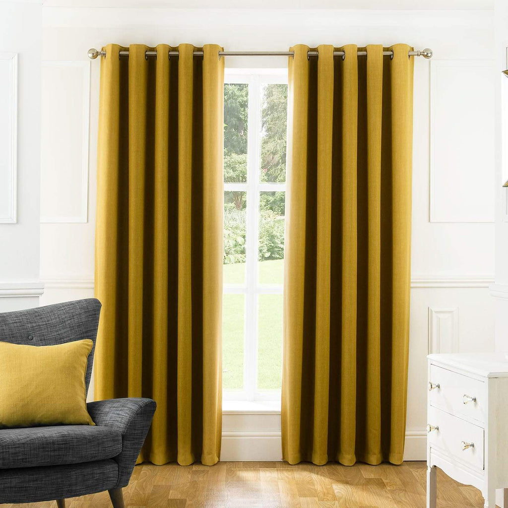 Textured & Embossed Sun Blocking Curtains - Available in 8 Colors