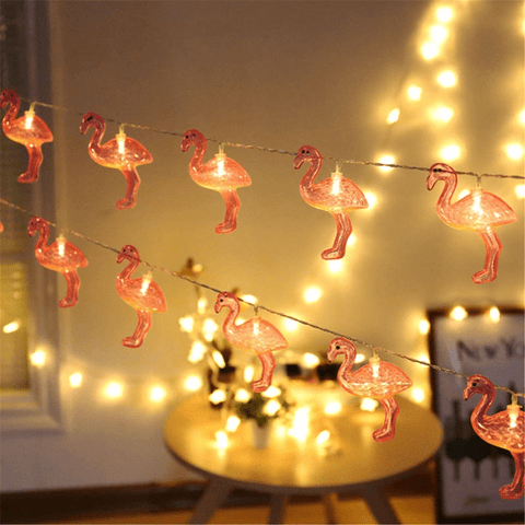 5 Pack: Flamingo LED String Lights