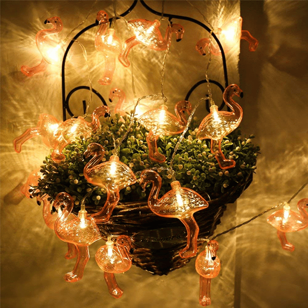 Buy 3 Packs Get 3 Packs Free Flamingo LED String Lights