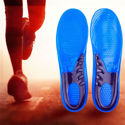 Massaging Gel Insoles with Dual Wave Technology