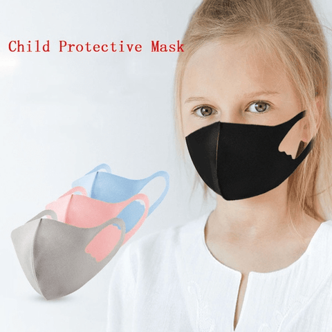 3 Pack: Kids Assorted Colours Fashion Mask