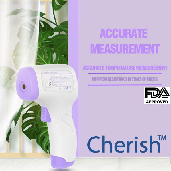 Buy 1 Get 1 Free: FDA Approved Cherish Infrared Thermometer