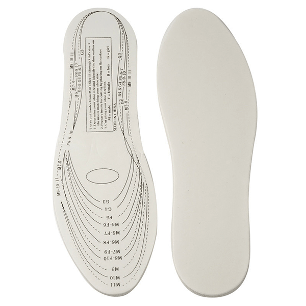 3 Pairs, 6 Pairs or 12 Pairs Therapeutic Memory Foam Insoles