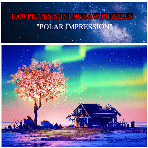 """Polar Impression"" 1000 Pieces Mini Jigsaw Puzzles"