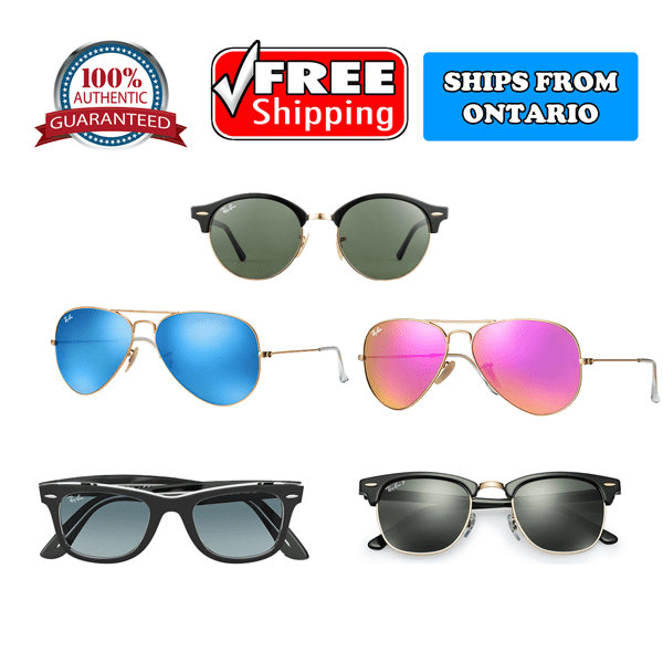 100% Authentic Ray-Ban Sunglasses for Women